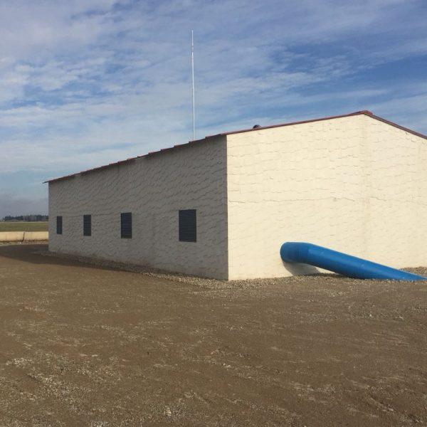 Edificio Sala de bombeo